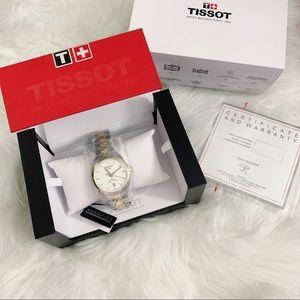 Tissot PR 100 COSC Two-Tone Bracelet Watch, 39mm